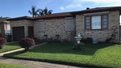 Marrero Single Family Home For Sale: 7413 Rachel Street