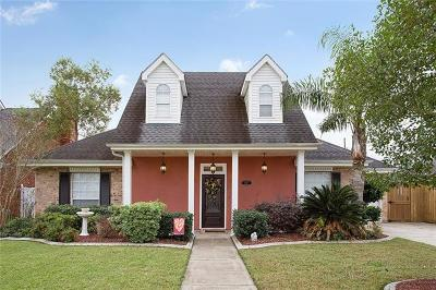Mereaux, Meraux Single Family Home For Sale: 2217 Aramis Drive
