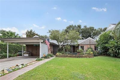 New Orleans Single Family Home For Sale: 23 Swan Street
