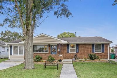 Metairie, Metarie, Metiairie, Metirie, Metrairie Single Family Home For Sale: 6525 Ithaca Street