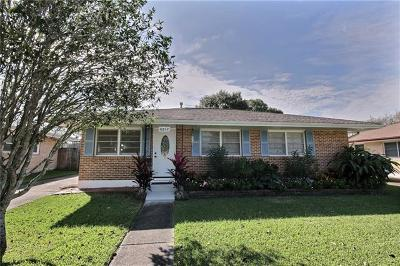 Metairie Single Family Home For Sale: 6812 Arthur Street
