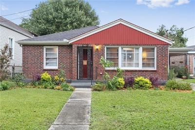 New Orleans Single Family Home For Sale: 4431 Saint Anthony Avenue
