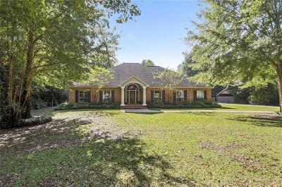 Slidell Single Family Home For Sale: 26 Oak Grove Way