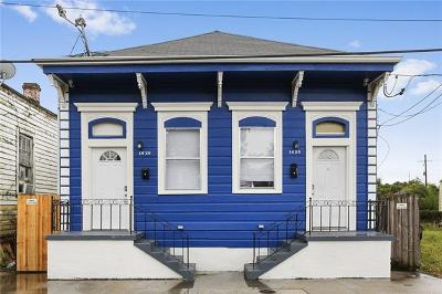 New Orleans Multi Family Home For Sale: 1626 Touro Street