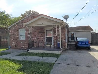 New Orleans Single Family Home For Sale: 8018 Brevard Avenue