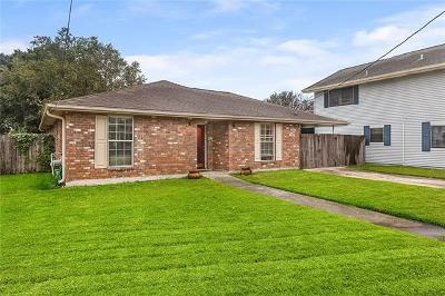 Metairie Single Family Home Pending Continue to Show: 4521 Belle Drive