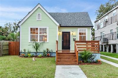 New Orleans Single Family Home For Sale: 2338 Alvar Street