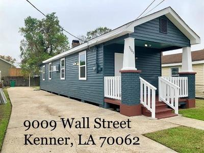 Kenner Single Family Home Pending Continue to Show: 9009 Wall Street