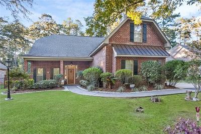Mandeville Single Family Home For Sale: 1660 Old Mandeville Lane