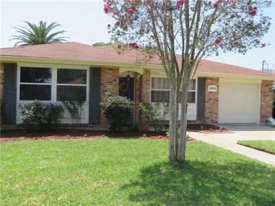 Metairie, Metarie, Metiairie, Metirie, Metrairie Single Family Home For Sale: 4816 Senac Drive