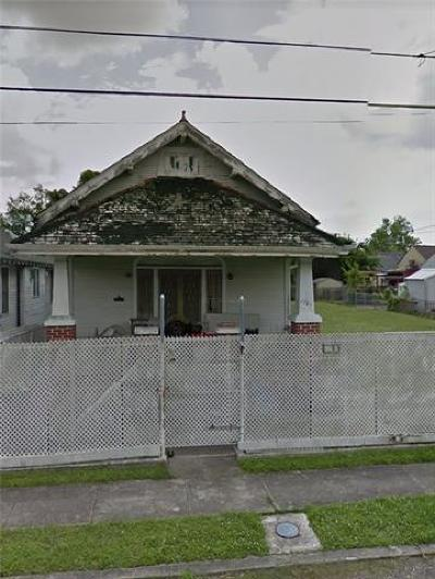 New Orleans Single Family Home For Sale: 1768 N Gayoso Street