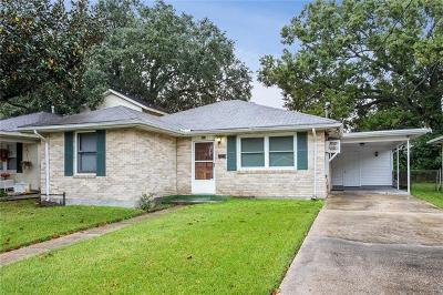 Metairie Single Family Home For Sale: 500 N Bengal Road
