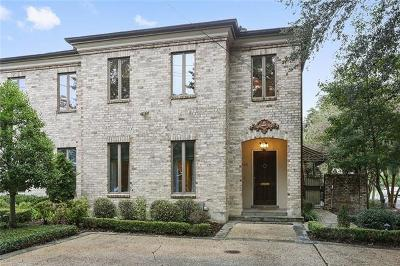 New Orleans Townhouse For Sale: 961 Harrison Avenue