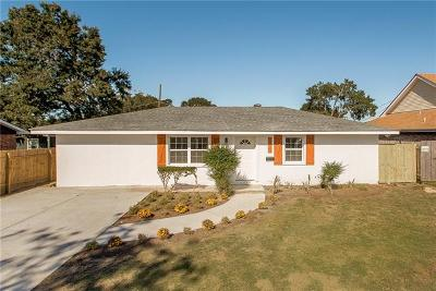 Metairie Single Family Home For Sale: 8737 26th Street