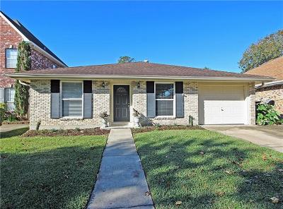 Metairie Single Family Home For Sale: 4620 Chastant Street