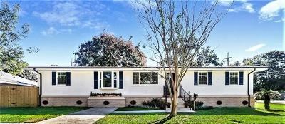 Metairie Single Family Home For Sale: 2501 Mississippi Avenue