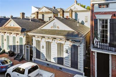 New Orleans Single Family Home For Sale: 915-917 St Peter Street