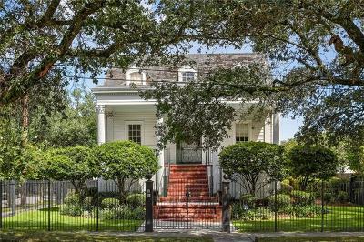 New Orleans Multi Family Home For Sale: 3133 Napoleon Avenue
