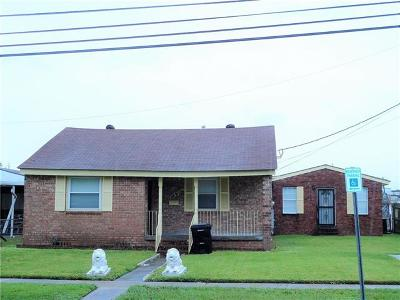 New Orleans Single Family Home For Sale: 217 Warrington Drive