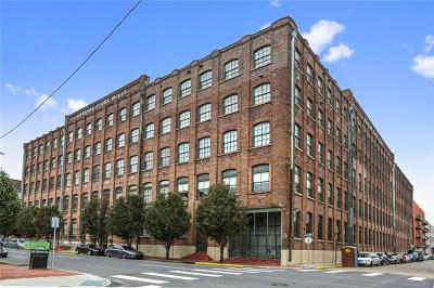 New Orleans Condo For Sale: 1107 S Peters Street #414