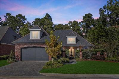 Covington Single Family Home For Sale: 452 N Corniche Du Lac