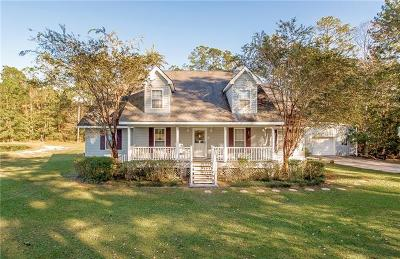 Covington Single Family Home For Sale: 74438 Gottschalk Road