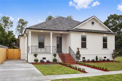 New Orleans Single Family Home For Sale: 1310 Seville Drive
