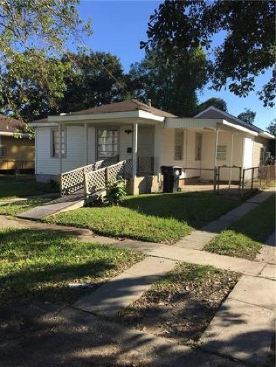 New Orleans Single Family Home For Sale: 1224 Merrill Street