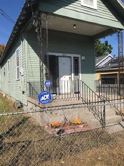 New Orleans Single Family Home For Sale: 1624 Feliciana Street