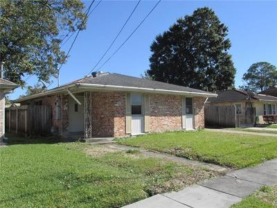 Metairie Single Family Home For Sale: 19 Tribune Street