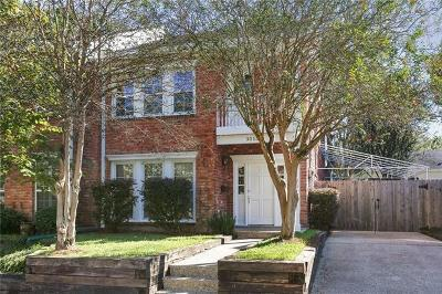 New Orleans Townhouse For Sale: 3015 Jefferson Avenue
