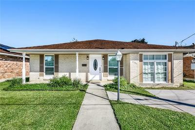 Metairie Single Family Home For Sale: 4521 St Mary Street