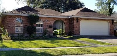 New Orleans Single Family Home For Sale: 3729 Mimosa Court