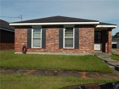 New Orleans Single Family Home For Sale: 1541 Virginia Marie Street
