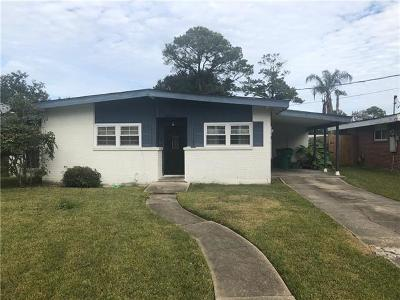 Metairie Single Family Home For Sale: 8131 Desoto Street