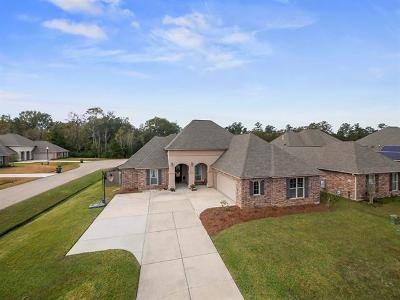 Madisonville Single Family Home For Sale: 348 Old Place Lane