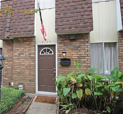 Metairie Condo For Sale: 4127 Division Street #4127