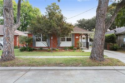 Metairie Single Family Home For Sale: 3025 Metairie Heights Avenue