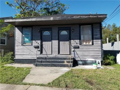 New Orleans Multi Family Home For Sale: 1304 Deslonde Street