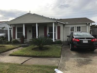 Kenner Single Family Home For Sale: 3417 W Loyola Drive