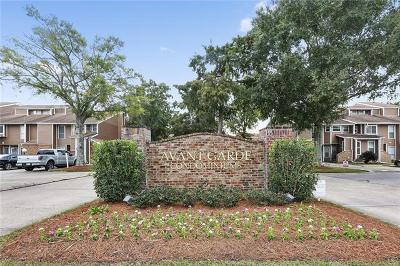 Kenner Condo For Sale: 2 Avant Garde Circle #2