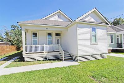 New Orleans Single Family Home For Sale: 4815 Nottingham Drive