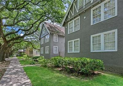 New Orleans Condo For Sale: 920 S Carrollton Avenue #Q
