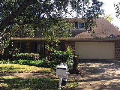 Metairie Single Family Home For Sale: 4529 Chateau Drive