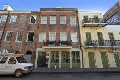 New Orleans Condo For Sale: 539 Toulouse Street #A