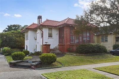 Single Family Home For Sale: 4500 S Galvez Street