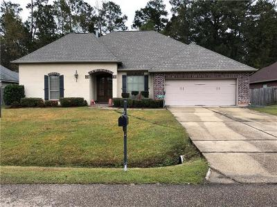 Madisonville Single Family Home For Sale: 116 Timber Wood Drive