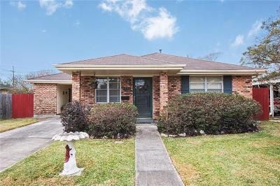 Metairie Single Family Home For Sale: 1512 Frankel Avenue