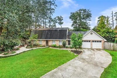 Mandeville Single Family Home For Sale: 101 Talisheek Place