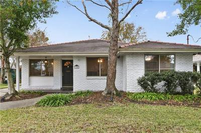 Metairie Single Family Home For Sale: 1308 Melody Drive